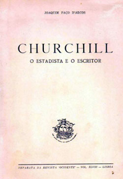 Churchill o Estadista e o Escritor