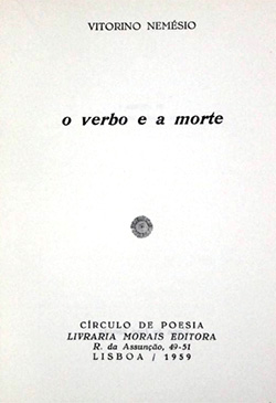 O Verbo E A Morte